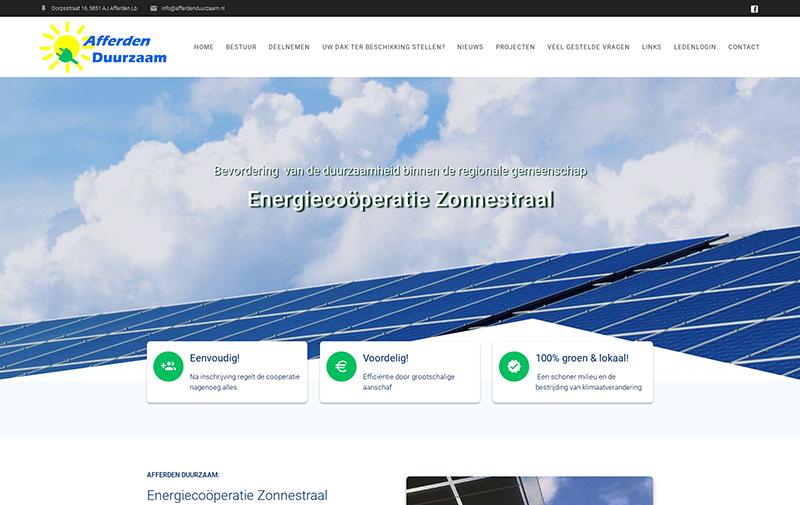 Website EC zonnestraal