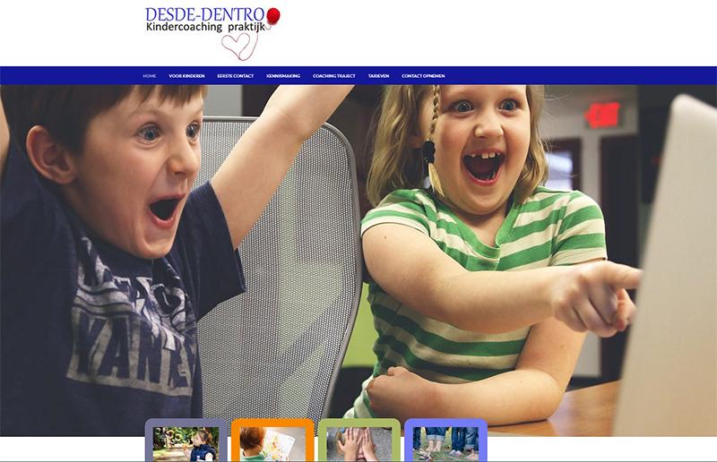 Website Kindercoaching Praktijk Desde-dentro