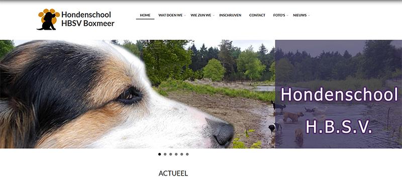 Website hondenschool