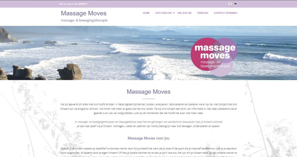 Website Massagemoves