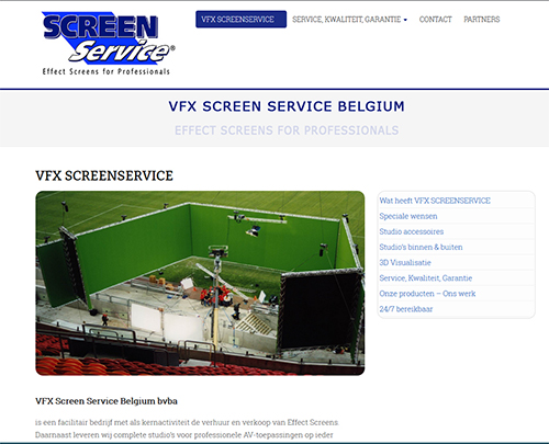 Website screenservice
